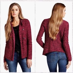 Lucky Brand Double Breasted Heavy Knit Cardigan